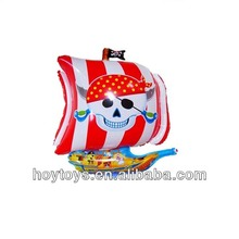 Newest Design Pirates Boat Shape Large Foil Balloon