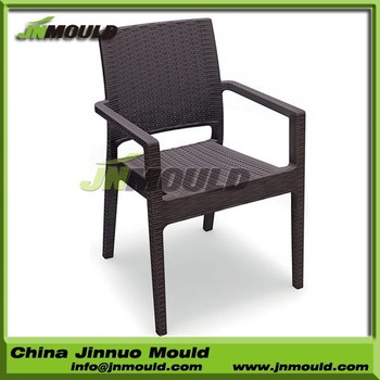 German quality rattan furniture mould gas assisted plastic rattan chair mould