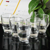 small whiskey cup clear shot glass cup