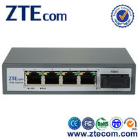 5 port 10/100Mbps poe switch for IP Cameras