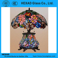 HEXAD Luxury Stained Glass Lamp