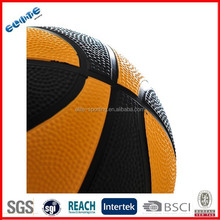 8 Panels Rubber official game basketball