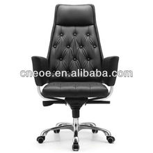Boss button tufted executive chair