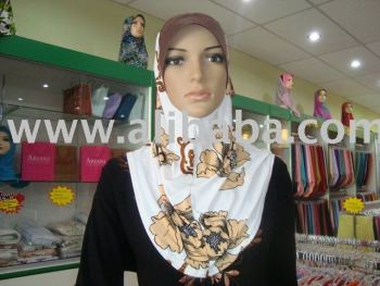 Muslim fashion hijab tudung and scarf