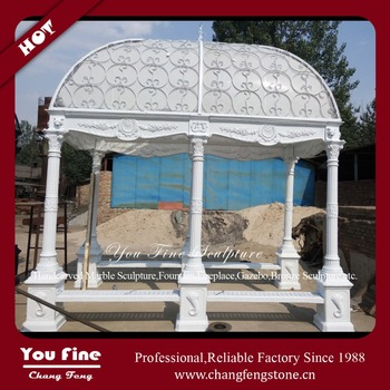 Antique Metal Garden Wrought Iron Gazebo