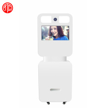 46 inch touch screen photo booth kiosk with printer and camera for sale