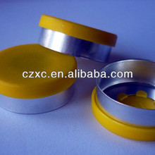hot sales separate aluminum plastic cap13mm,20mm,32mm