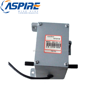 Engine Electric Motor 12V/24Volt Actuator ADC120