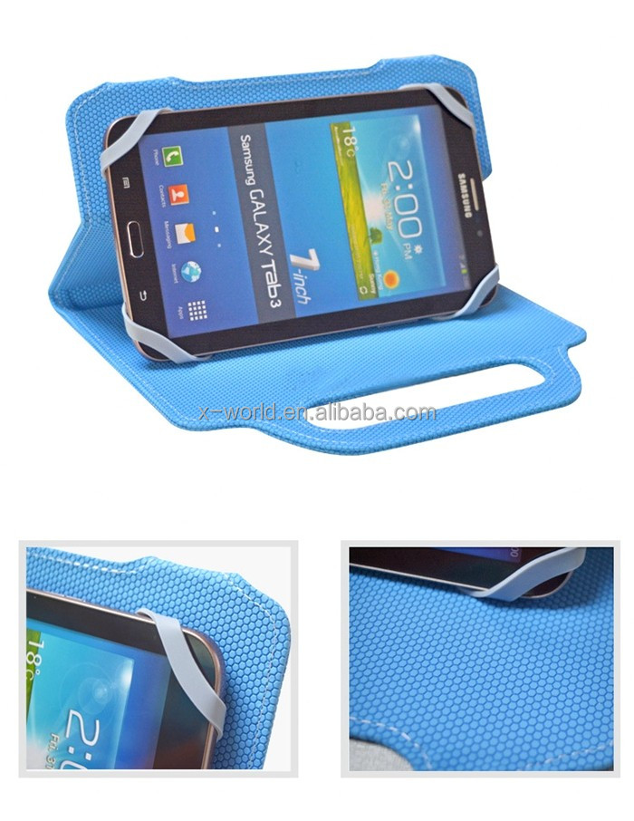 Factory OEM handheld easy carry fashion universal tablet case for samsung tab A 7 inch/ ipad mini 4