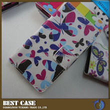 factory price design leather case for sony xperia e c1504/c1505/c1605 case