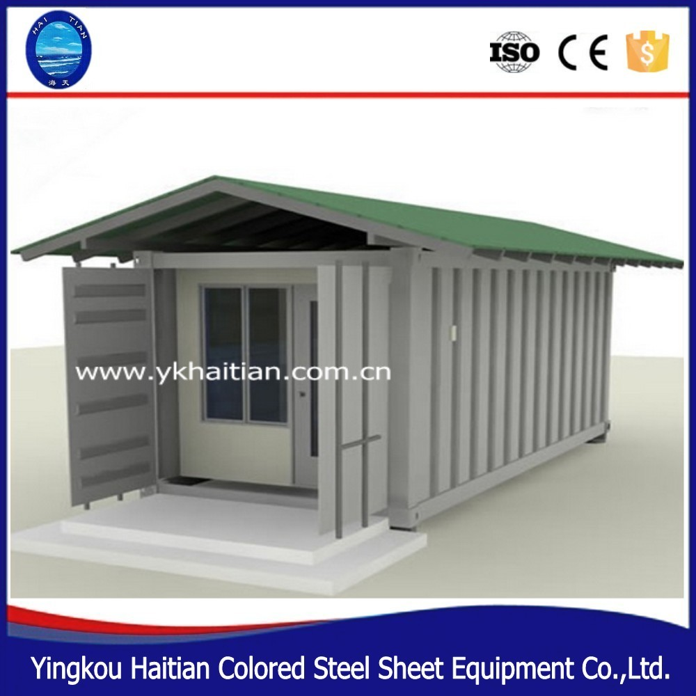 Certificated easy transportation customized container house german , mobile living house container for sale