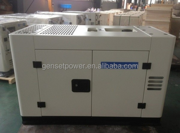With perkins engine diesel sound proof generator 10kva