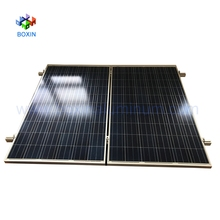 industrial alloy silver anodized aluminum solar panel frame