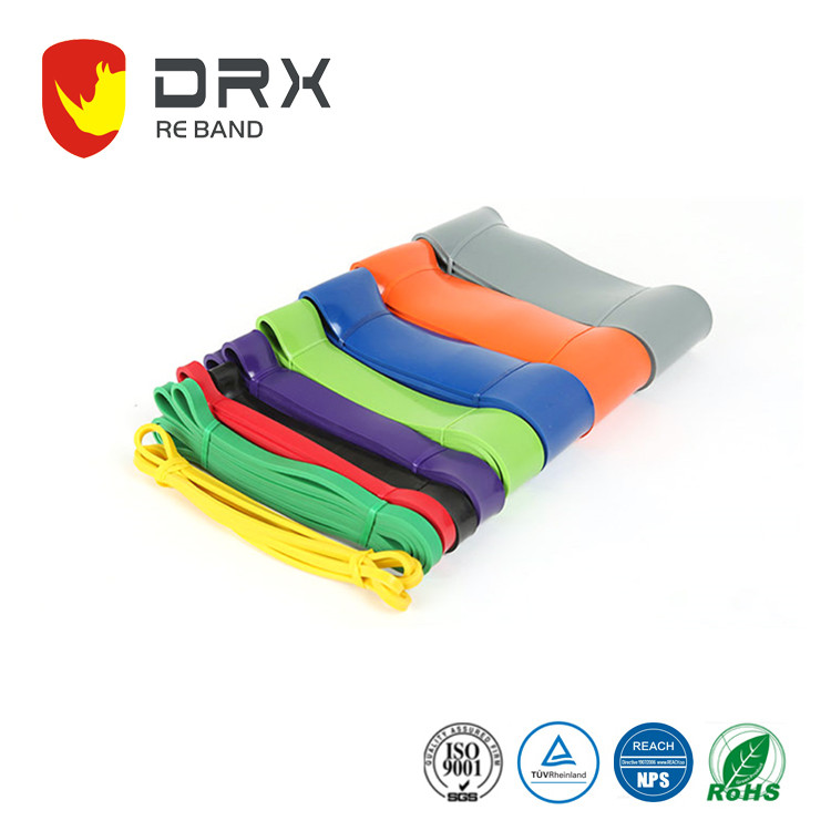 9 Different Density Workout Resistance Bands Stretch Light Medium Heavy Loop