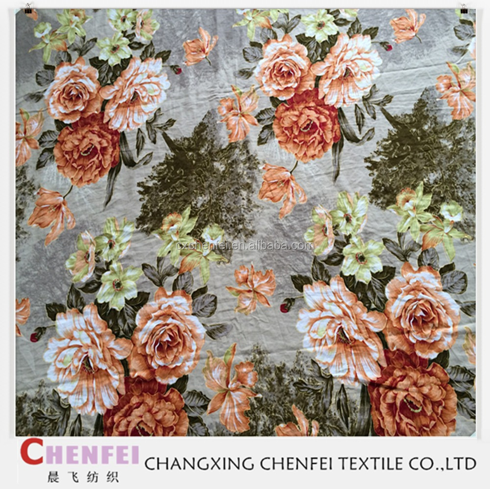 Polyester Pongee Dyed/printed Lining Fabric new patten polyester yarn dyed fabric brushed