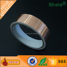 0.025mm copper Foil Adhesive Tape backed with for Soldering shopping with fast shippment