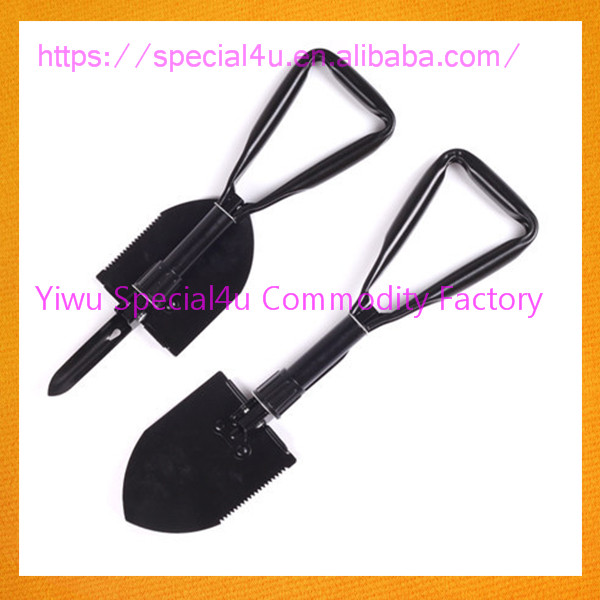 SPRA-448 camping tools gardening folding shovels foldable spade factory