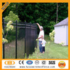 Haiao fence High quality Galvanized and powder coated Black 1.8m high panel Residential Hot sale Low price iron fence