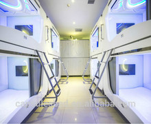 CE ROHS UL certification capsule hotel bed with competitive price