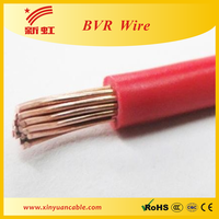 Copper core PVC inssulated flexible cable single core cable
