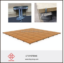 Exhibition System Wooden Floor for booth and stand Compatible with octanorm system