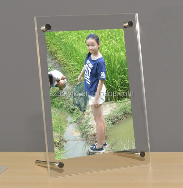 fashion acrylic love picture photo frame 8x10