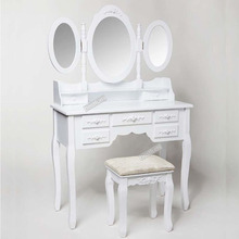 Wholesale White Dressing Table Stool
