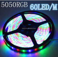 10mm width 220v waterproof 5050 rgb led flexible rope strip light