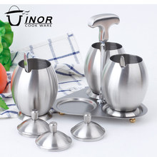 grit satin finish stainless steel seasoning canisters wholesale with frame