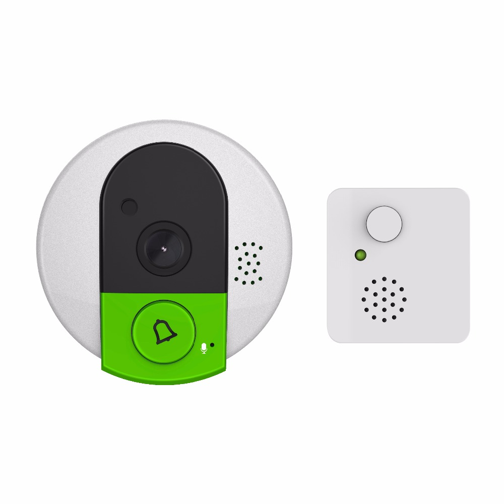 Smart Home wireless wifi Video Door Bell back up battery power two-way audio
