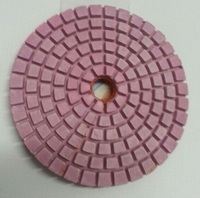 "4""5"" 100mm 125mm wet and dry diamond hand polishing pads"