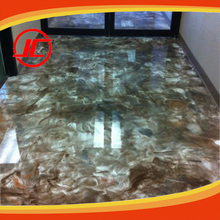 Creative DIY Crystal 3D & Metallic Epoxy Floor Coating with Color Liquid Pigments Professional Manufacturer