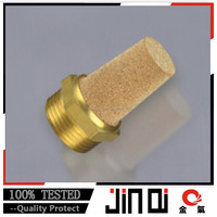 Pneumatic Brass Silencer Brass Muffler