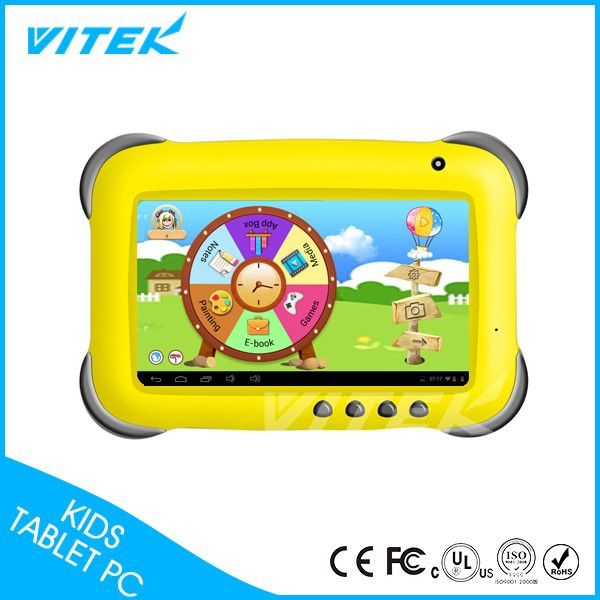 7'' Best Gift for Kids Spanish language learning children's Andorid Tablet