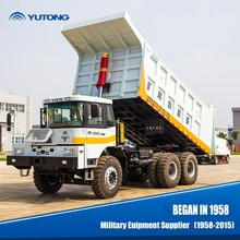 YUTONG 50 ton mining van-body tipper supplier