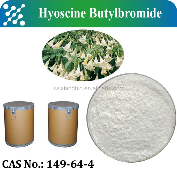 Factory supply Scopolamine Butyl bromide / Hyoscine Butylbromide/hyoscine n-butyl bromide powder 99% CAS No. 149-64-4