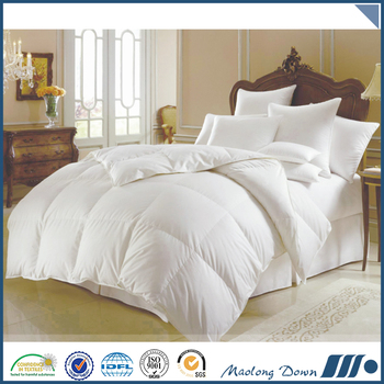 100% Cotton Goose Down Filling Wholesale Bedding Comforter Set