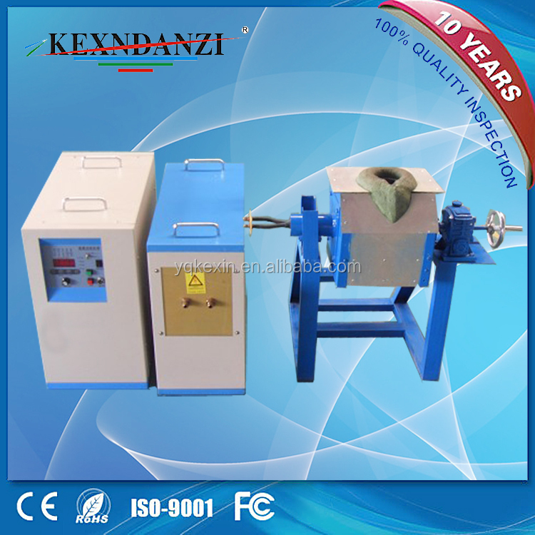 Industrial Forging Furnace Induction Smelting Machine for Diamond Tools Welding