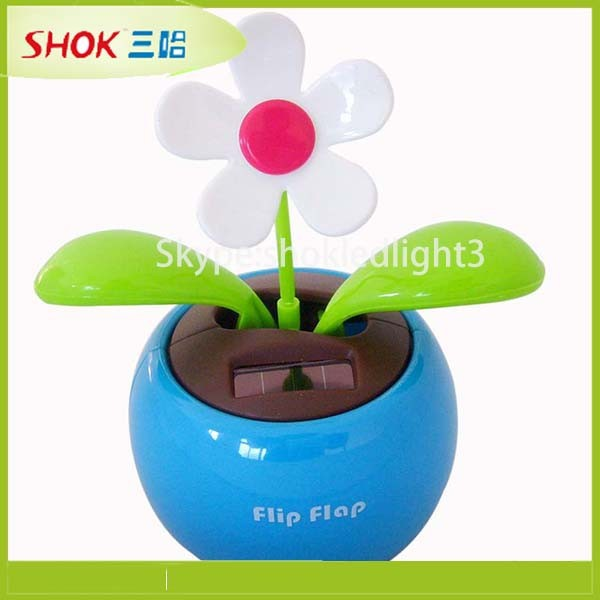 Latest technology solar powered dancing flower