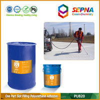 low price polyurethane construction chemical crack glue adhesive