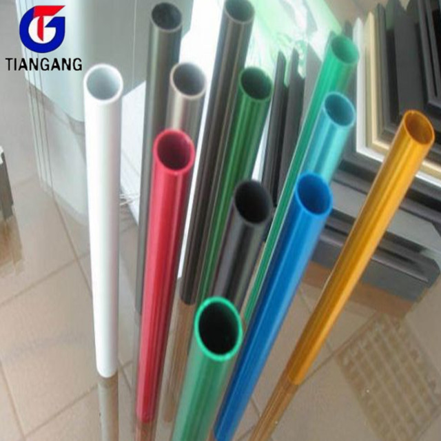 color anodized aluminum pipe