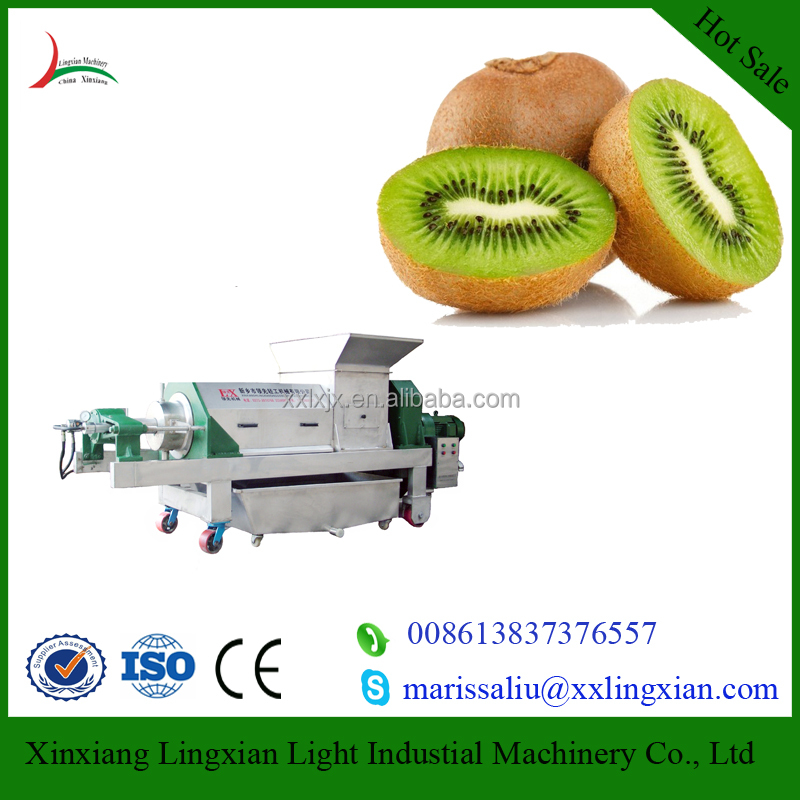 Hotsale Spiral Fruit Juice Extractor Industrial Fruit Juicer Machine for kiwiwfruit