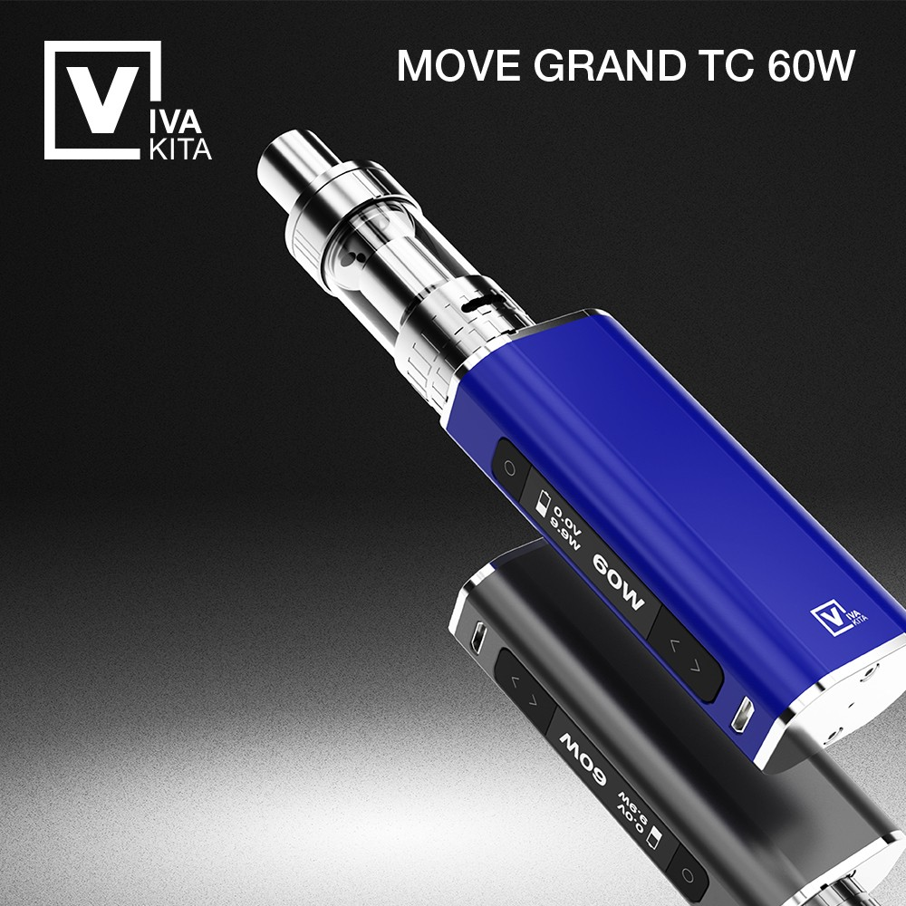 New temperature control ceramic coil mechanical 18650 rechargeable battery vape mod