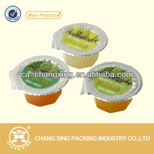 Plastic Wrap Sealing Film for jelly/Beverage/Yoghourt Cup