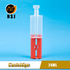 24ml 1:1 Dental Empty Dual Barrel Glue Syringe