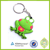 Factory Outlet cheap newest style cute Plastic Frog Keychians