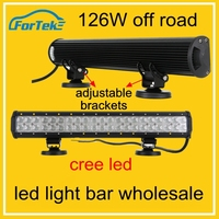 wholesale led light bar cheap led light bar off road led light bar 126W