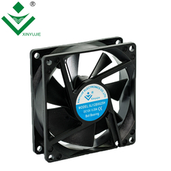 80x80x25mm 5v 12v 24v 3 inch dc exhaust cooling fan axial fans