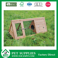 pine wood Factory Direct cheap rabbit runs for sale