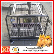 Cheap Small Square Tube Double-door Dog Cages